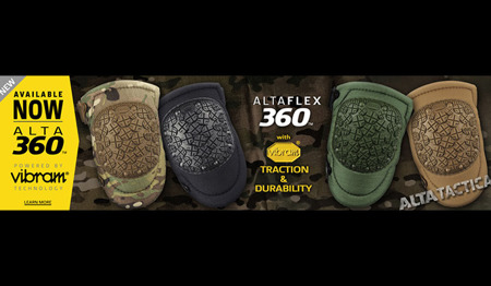 ALTA - AltaFLEX 360™ Vibram® Cap Knee Pads - Coyote Brown - 50433.14