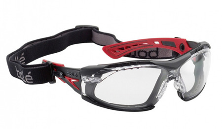 Bolle Safety - Schutzbrille RUSH+ - Transparent - RUSHPFSPSI