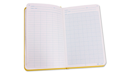 "Rite in the Rain - All-Weather Geological Notebook - 4 3/8"" x 7 1/4"" - 540F - Yellow"