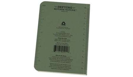 "Rite in the Rain - All-Weather Notebook - 3 1/2 x 5"" - 954 - Olive"