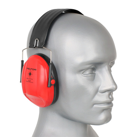3M - Peltor Bull's Eye I Ear Muffs - Red