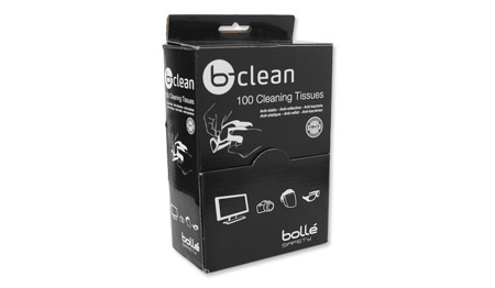 Bolle - B-Clean Moistened Cleaning Tissues - 100 pcs. - B100