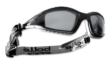 Bolle Safety - Safety Glasses - TRACKER II - Smoke - TRACPSF