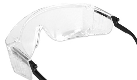 Bolle Safety - Safety glasses SQUALE OTG - Clear - SQUPSI