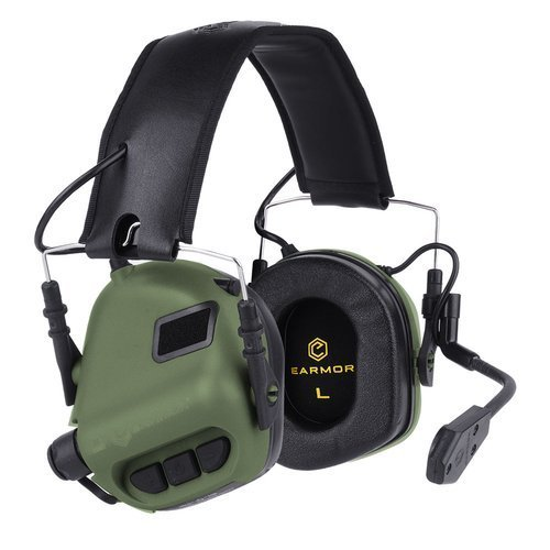 Earmor - M32 Tactical Mod 3 Communication Headset - Foliage Green