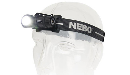 NEBO - Rebel Rechargeable Headlamp and Tasklight - 600 lm - NB6691