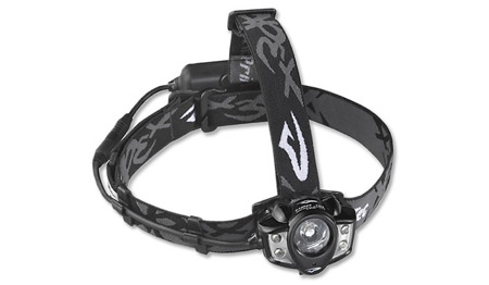 Princeton Tec - Headlamp APEX RECHARGEABLE - Black - APXL-RC