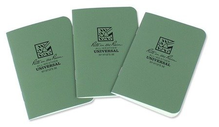 Rite in the Rain - All-Weather Notebook - 3 1/4x4 5/8'' -971FX-M-Olive