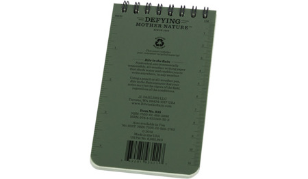 "Rite in the Rain - All-Weather Notebook - 3 x 5"" - 935 - Olive"
