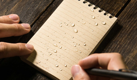 "Rite in the Rain - All-Weather Notebook - 3 x 5"" - 935T - Tan"