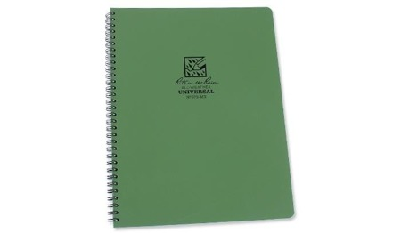 Rite in the Rain - All-Weather Notebook - 8 1/2 x 11'' - 973-MX - Oliv
